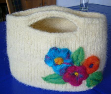 taschen stricken und filzen